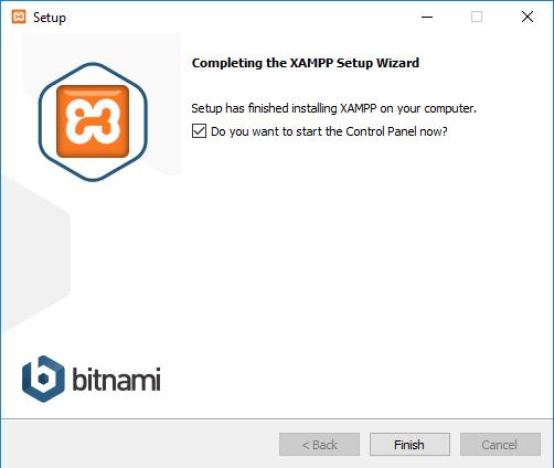Setup XAMPP 7