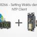 ESP8266 Arduino IDE - Setting Waktu dengan NTP Client
